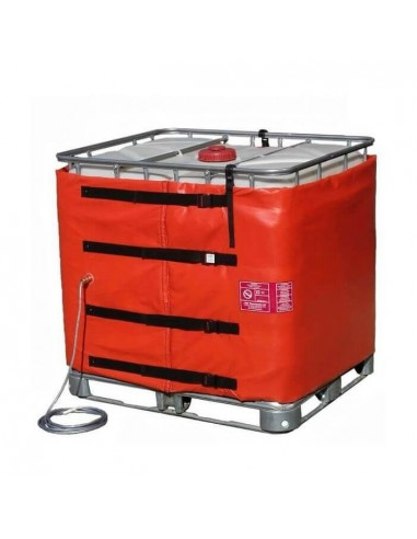 Couverture Chauffante ATEX - Cuve 1000L IBC - 1700 W