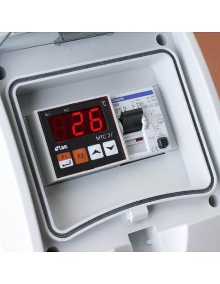 Plaque chauffante souple pour cuve 1000L IBC - 2700w
