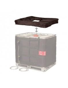 Coiffe isolante de couverture chauffante - Cuve 1000L IBC