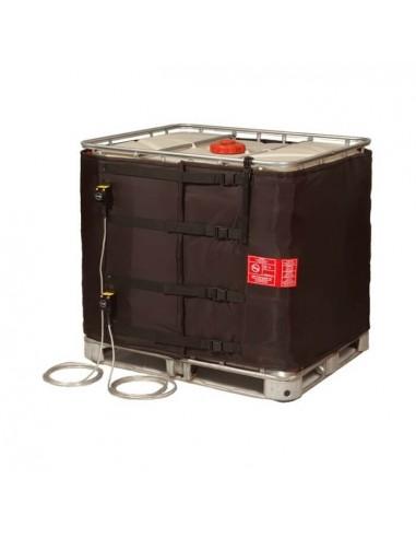 Couverture Chauffante - Cuve 1000L IBC - 2x1400 W