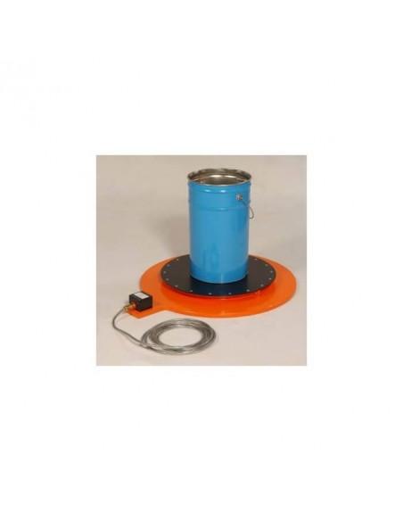 Base chauffante ATEX pour Fut 200L - 500W