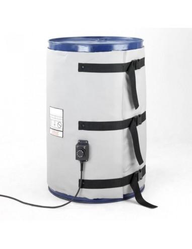 Couverture Chauffante - Fût métal 200-220L - 1800W - Haute température (0 à 220°C)