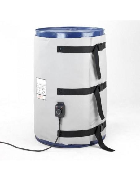Couverture Chauffante - Fut metal 200 L - 1200W - Haute temperature (0-220°C)