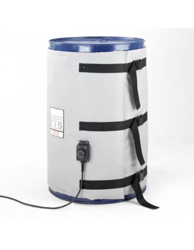 Couverture Chauffante - Fût métal 25-30L - 380W - Haute température (0 à 220°C)