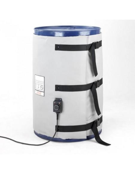 Couverture Chauffante - Fût métal 100L - 700W - Haute température (0 à 220°C)