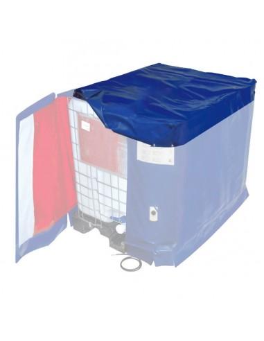 Couvercle Isotherme Standard pour Bâche Chauffante de Cuve 1000L IBC - IP54