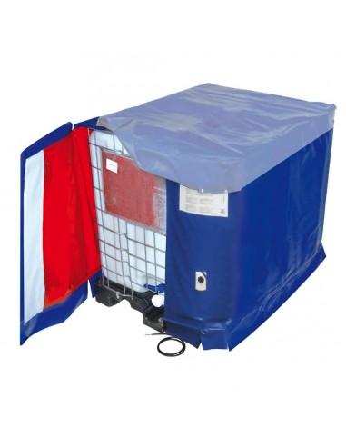 Bâche chauffante - Cuve 1000L IBC - 2000W (10-90°C)