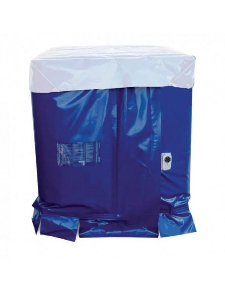 Bâche chauffante - Cuve 1000L IBC - 1400W - (10 à 70°C)
