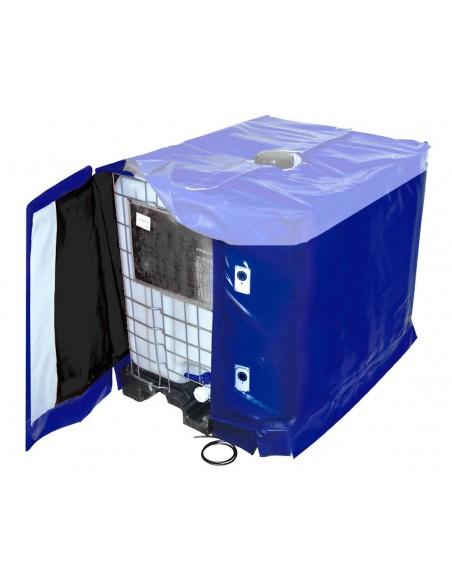 Bâche chauffante - Cuve 1000L IBC - 3000W - (10 à 90°C)