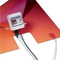 Plaque chauffante souple - Cuve 1000L